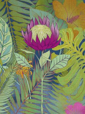 Tropical Tapestry I by Chariklia Zarris