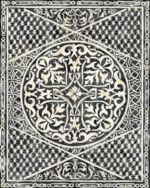 Woodcut in Black I by Chariklia Zarris