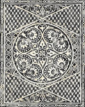 Woodcut in Black II by Chariklia Zarris