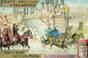 Chariot Race in the Circus, Rome