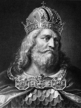 Charlemagne, King of the Franks 768-814, Holy Roman Emperor 800-814, Late 700s