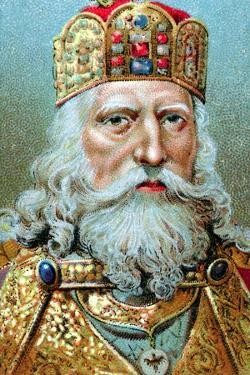 Charlemagne, King of the Franks, C1920
