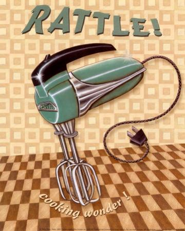 Nifty Fifties, Rattle by Charlene Audrey