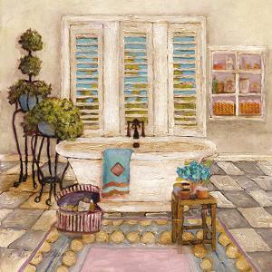 Sunny Day Bath I by Charlene Olson