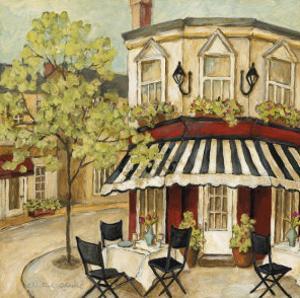 Corner Cafe II by Charlene Winter Olson