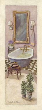 Lavender Bath I by Charlene Winter Olson