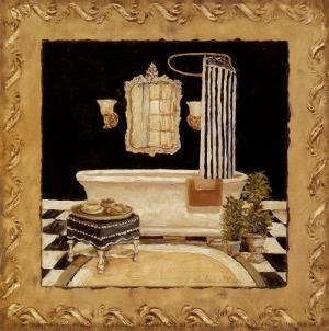 Maison Bath II by Charlene Winter Olson