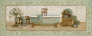 My Peaceful Bath I by Charlene Winter Olson