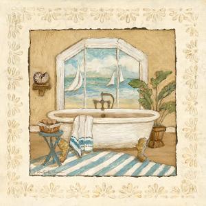 Ocean View Bath II by Charlene Winter Olson