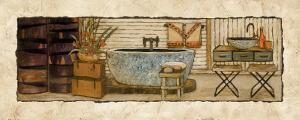 Z Spa I by Charlene Winter Olson