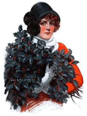 """""""Holly Bouquet,""""December 13, 1924 by Charles A. MacLellan"""