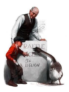 """""""Raffle Prize,""""November 22, 1924 by Charles A. MacLellan"""