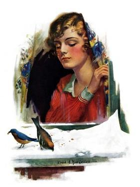 """""""Snow Birds,""""March 6, 1926 by Charles A. MacLellan"""