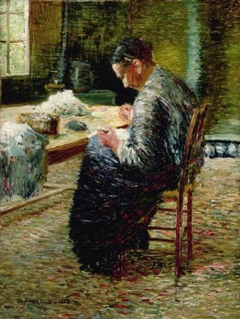 Portrait of the Artist's Mother Sewing, 1885