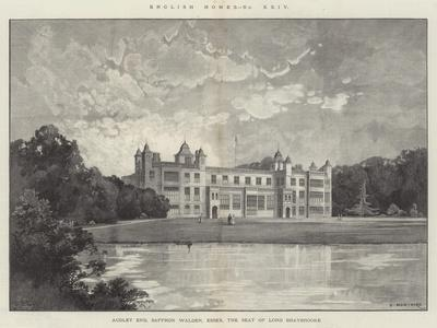Audley End, Saffron Walden, Essex, the Seat of Lord Braybrooke