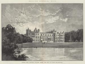 Audley End, Saffron Walden, Essex, the Seat of Lord Braybrooke by Charles Auguste Loye