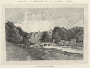 Audley End by Charles Auguste Loye