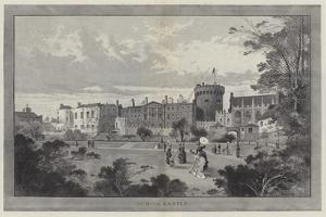 Dublin Castle by Charles Auguste Loye