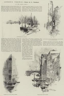 London's Tideway by Charles Auguste Loye