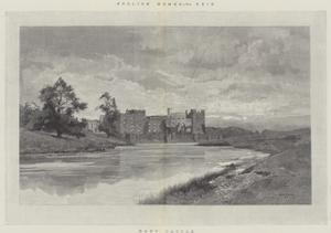 Raby Castle by Charles Auguste Loye