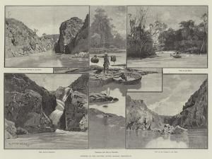 Scenery of the Cauvery River, Madras Presidency by Charles Auguste Loye