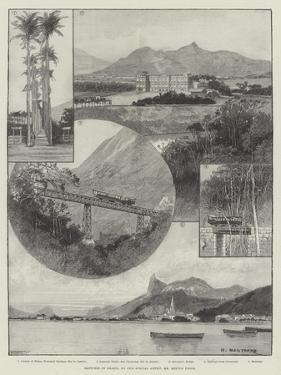 Sketches in Brazil by Charles Auguste Loye