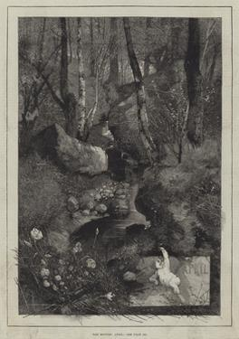 The Months, April by Charles Auguste Loye