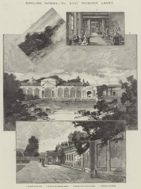 Woburn Abbey by Charles Auguste Loye