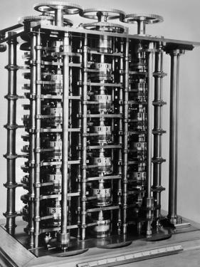 Difference Engine No. 1 by Charles Babbage