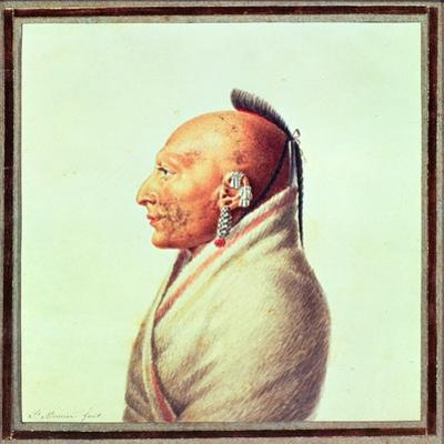 Indian Chief of the Little Osages, C.1807