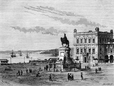Commerce Square, Lisbon, Portugal, 19th Century