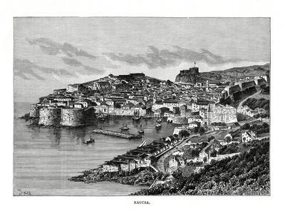 Ragusa, Sicily, Italy, 1879