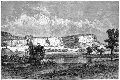 The Rocks of Inkerman, Crimea, Ukraine, 19th Century