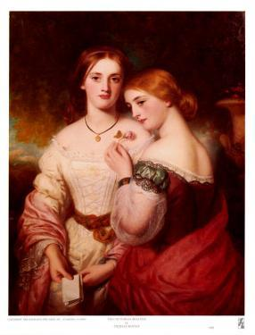 Two Victorian Beauties by Charles Baxter