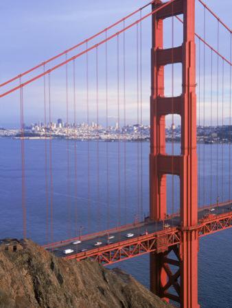 Golden Gate Bridge, San Francisco, California by Charles Benes