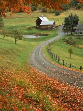 Sleepy Hollow Farm, Woodstock, VT by Charles Benes