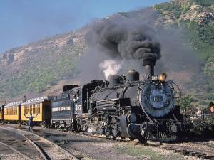 Steam Locomotive, Durango, Colorado by Charles Benes