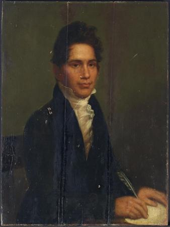 John Ridge, Cherokee Chief, 1825 by Charles Bird King