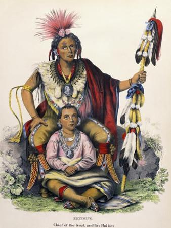 Keokuk (Chief of the Sauk and Fox Nation) by Charles Bird King