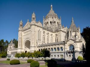 Basilica of Sainte-Therese de Lisieux, Lisieux, Calvados, Normandy, France by Charles Bowman