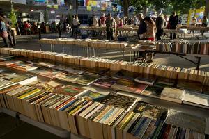 Book Stalls London by Charles Bowman