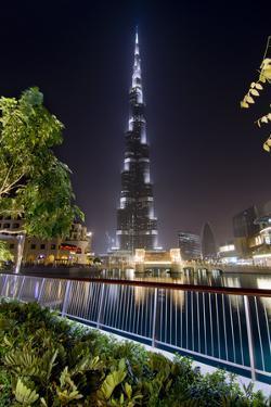 Burj Khalifa by Charles Bowman