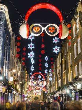 Carnaby Street Christmas by Charles Bowman