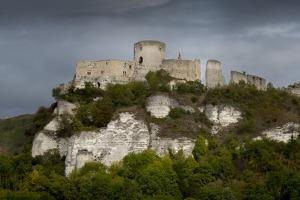 Chateau Gaillard, Les Andelys, Eure, Normandy, France by Charles Bowman