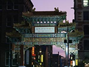 China Town, Manchester, England, United Kingdom by Charles Bowman