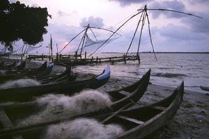 Cochin Fishing Nets by Charles Bowman
