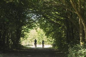 Cyclists Tunnel by Charles Bowman