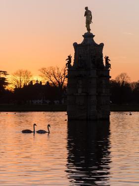 Diana Fountain Bushey Park by Charles Bowman