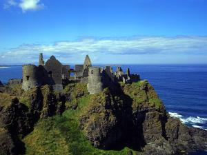 Dunluce Castle County Antrim Northern Ireland by Charles Bowman