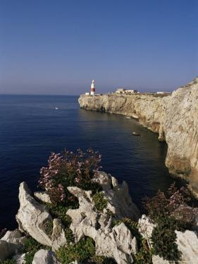 Europa Point Lighthouse, Gibraltar, Mediterranean by Charles Bowman